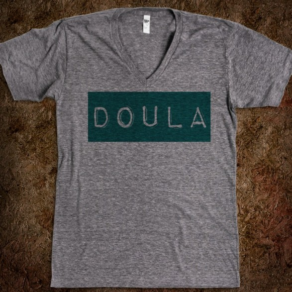 doula-label-v-neck.american-apparel-unisex-v-neck-tee.athletic-grey.w760h760