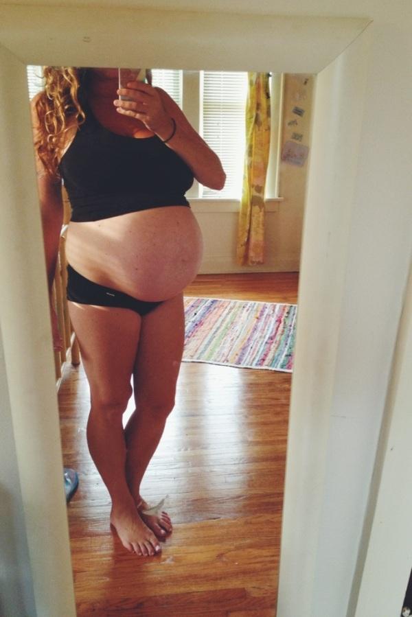last maternity photo